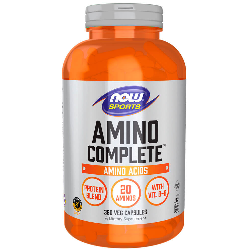 NOW Sports Amino Complete (360 capsules)