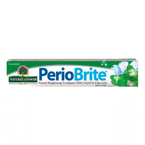 Nature's Answer PerioBrite Toothpaste - Coolmint (4 oz)