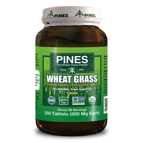 Pines Wheat Grass 500mg (250 tablets)