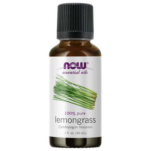 NOW Essential Oils Lemongrass Oil (1 fl oz)