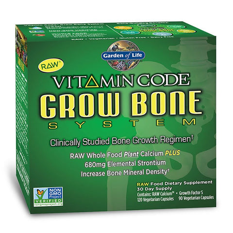 Garden of Life Vitamin Code Grow Bone System (30 day supply)