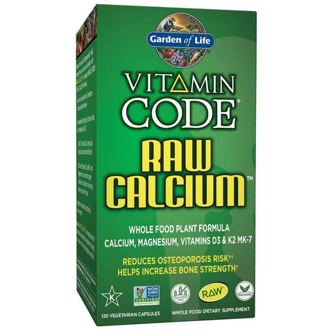 Garden of Life Vitamin Code RAW Calcium (120 capsules)