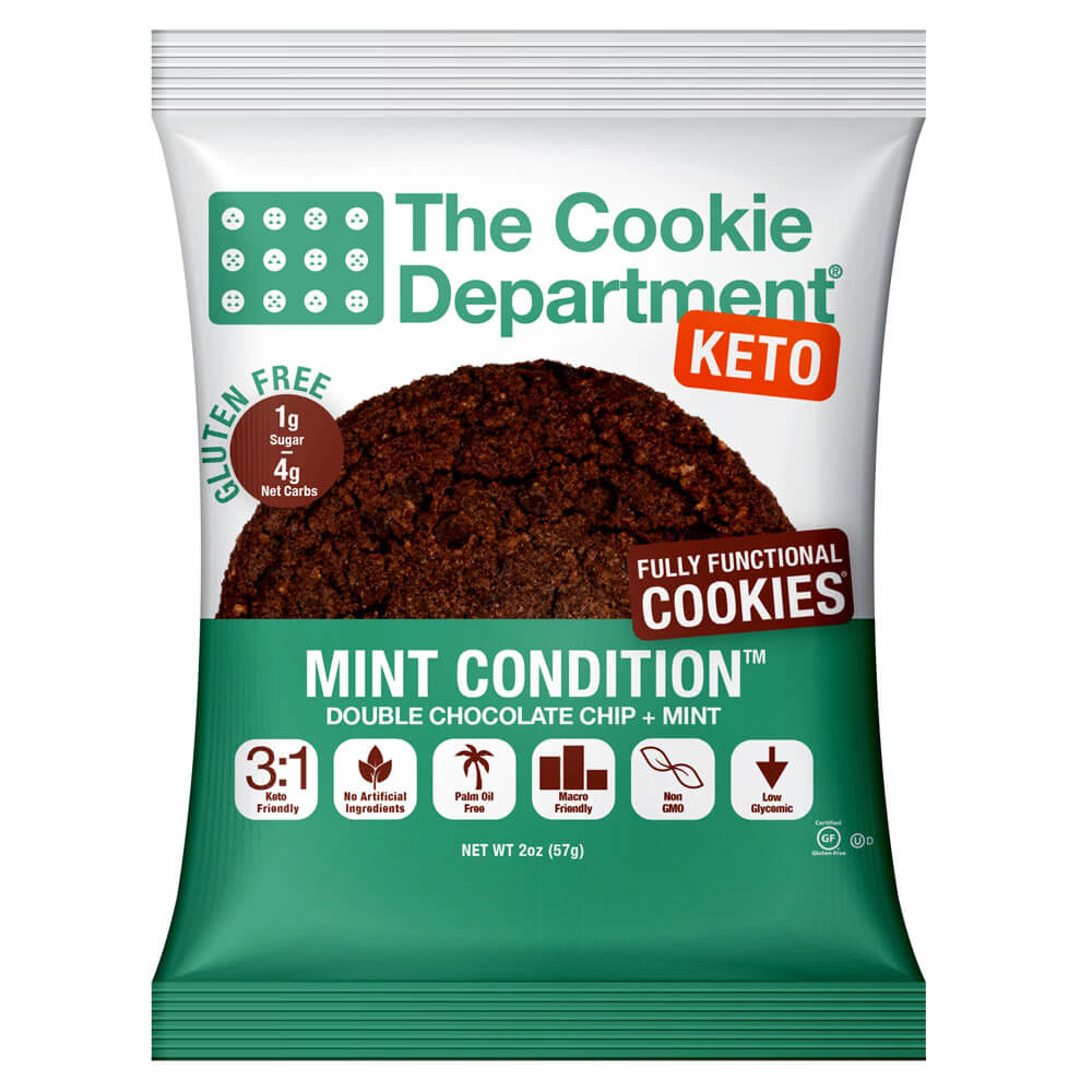 The Cookie Department Keto Cookie (box of 8)