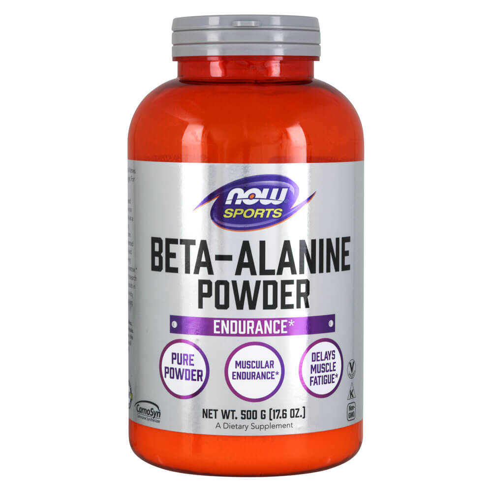 NOW Sports Beta-Alanine Powder 500g (17.6 oz)