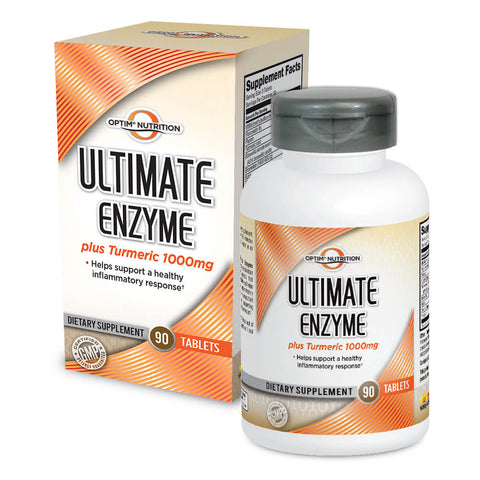 Optim Nutrition Ultimate Enzyme Plus Turmeric (90 tabs)