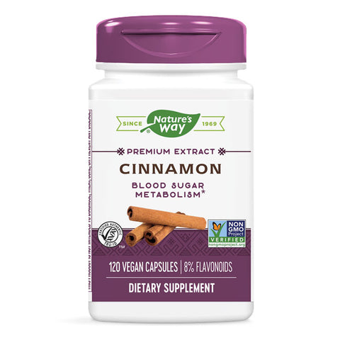 Nature's Way Cinnamon Standardized (120 veggie caps)