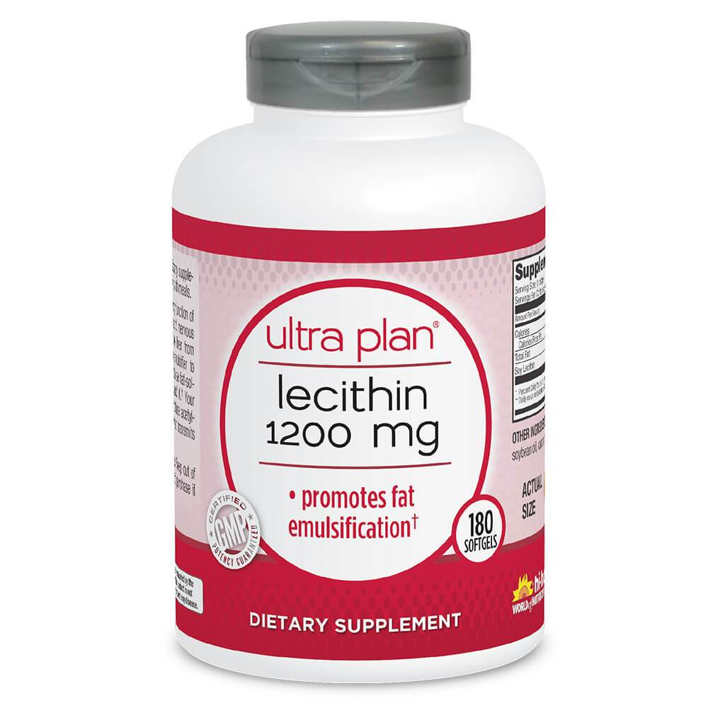 Ultra Plan Lecithin 1200 mg (180 softgels)