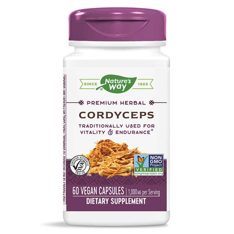 Nature's Way Cordyceps (60 capsules)