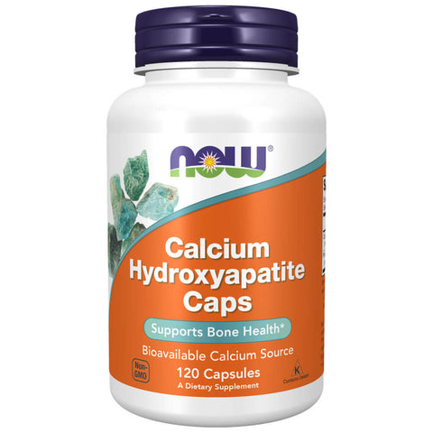 NOW Calcium Hydroxyapatite Caps (120 capsules)