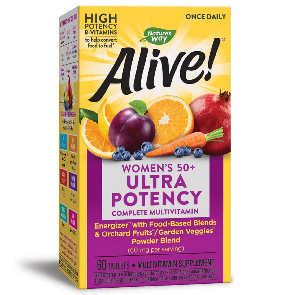 Nature's Way Alive! Once Daily Women's 50+ (60 tablets)