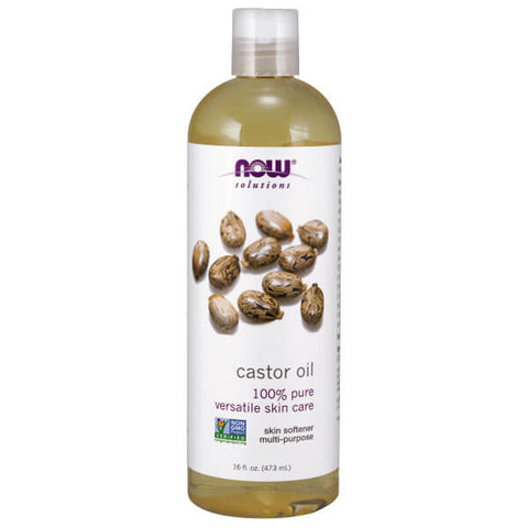 NOW Solutions Castor Oil (16 oz)
