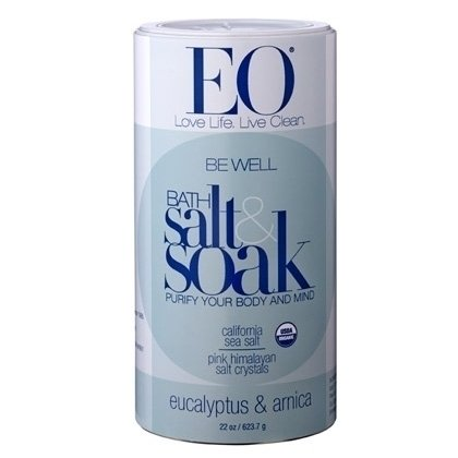 EO Be Well Eucalyptus & Arnica Bath Salt (22 oz)
