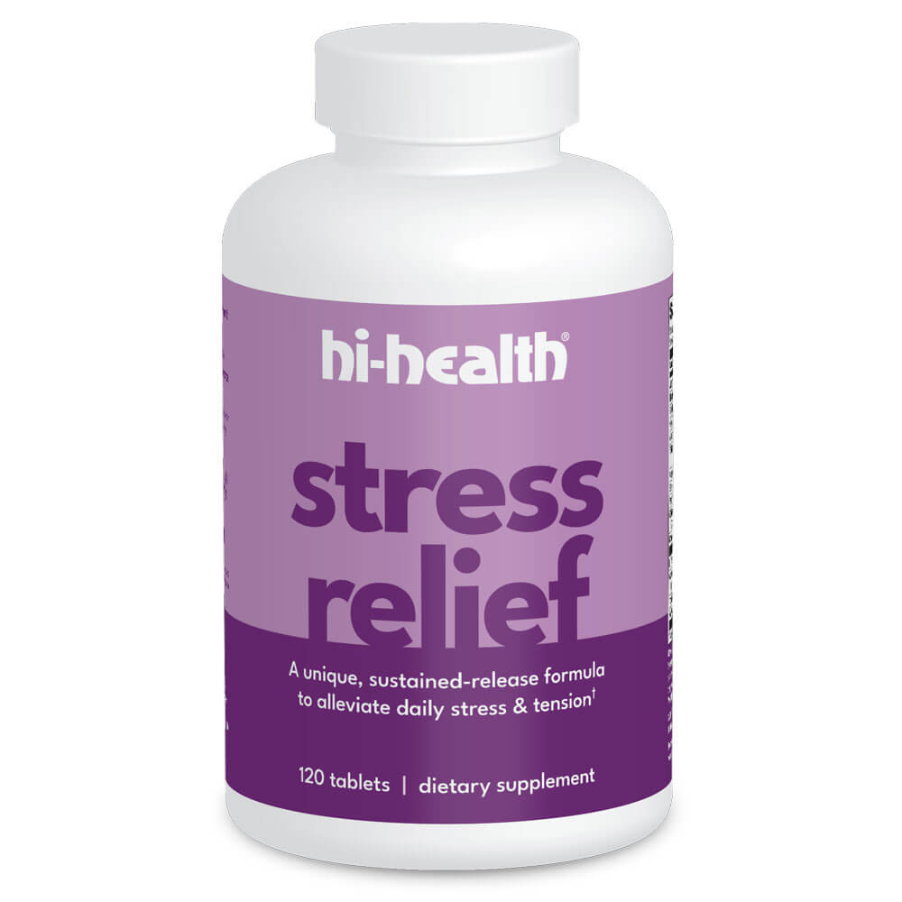 Hi-Health Stress Relief (120 tablets)