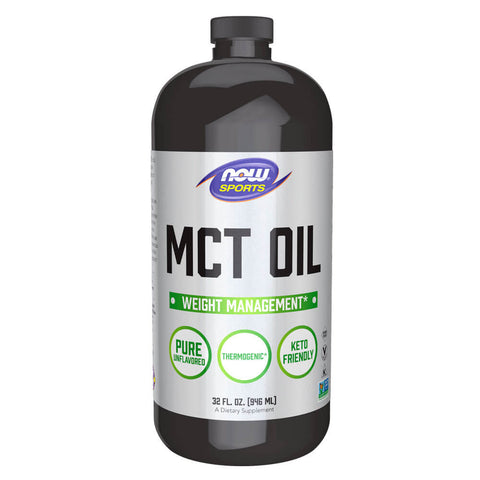 NOW Sports MCT Oil (32 fl oz)