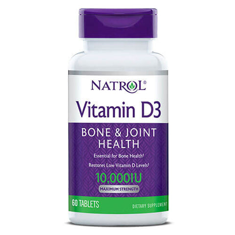 Natrol Vitamin D3 10,000 IU (60 tablets)