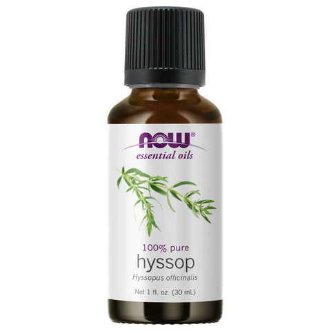 NOW Essential Oils Hyssop Oil (1 fl oz)