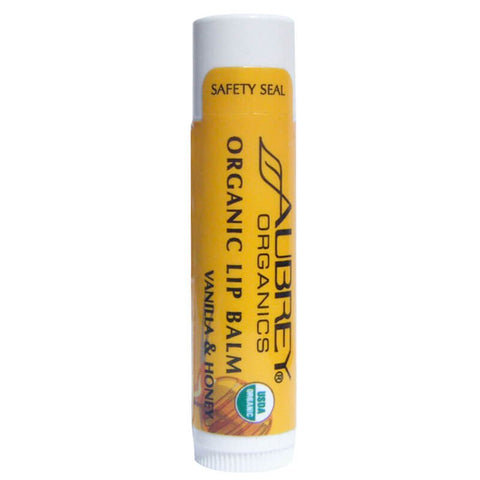 Aubrey Organics Organic Lip Balm - Vanilla & Honey (0.15 oz)