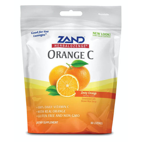 Zand HerbaLozenge - Orange C (80 lozenges)