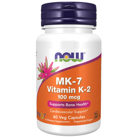 NOW MK-7 Vitamin K-2 100mcg (60 veg capsules)