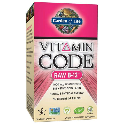 Garden of Life Vitamin Code RAW B-12 (30 capsules)