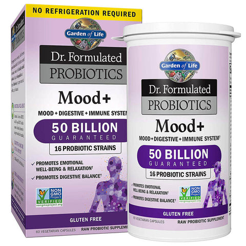 Garden of Life Dr. Formulated Probiotics Mood+ 50 Billion (60 capsules)