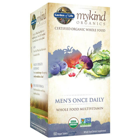 Garden of Life Mykind Organics Men's Once Daily Multivitamin (60 tablets)