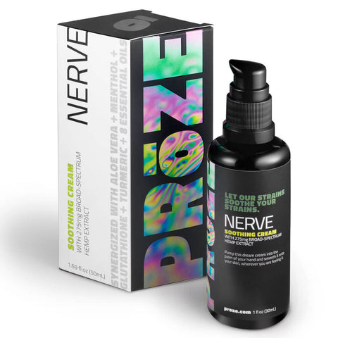 PRoZE NERVE CBD Soothing Relief Cream 275mg (1.69 fl oz)