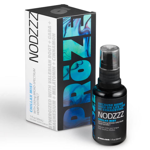 PRōZE NODZZZ CBD Rest & Relaxation Spray 250mg (1 fl oz)