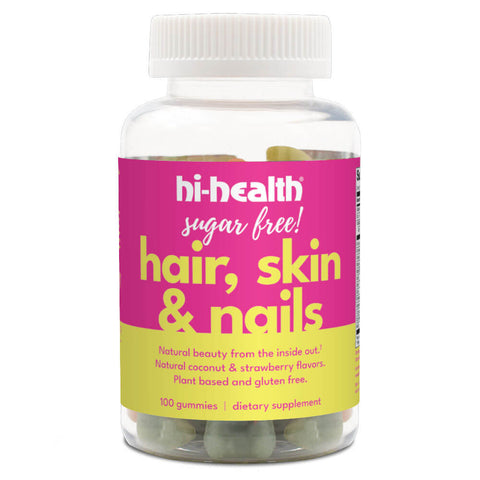 Hi-Health Sugar-Free Hair, Skin & Nails Gummies (100 gummies)
