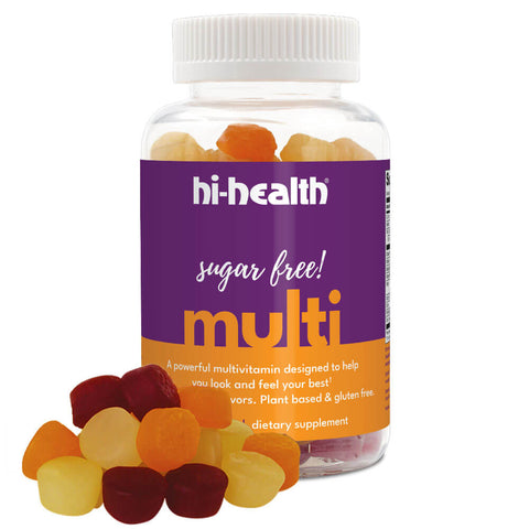 Hi-Health Sugar-Free Multivitamin Gummies (100 gummies)