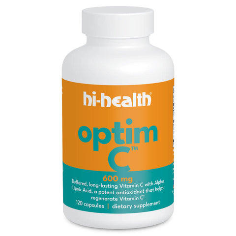 Hi-Health Optim-C 600mg (120 capsules)