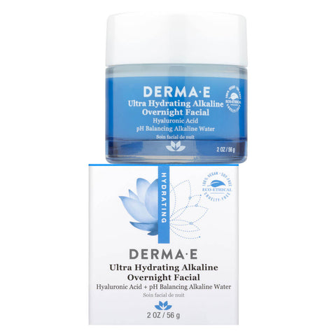 Derma E Ultra Hydrating Alkaline Overnight Facial (2 oz)