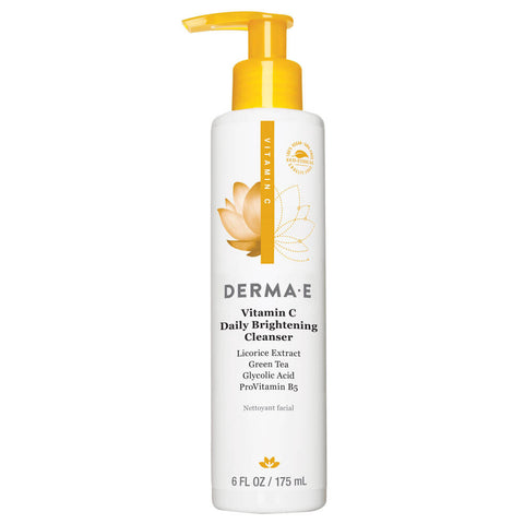Derma E Vitamin C Daily Brightening Cleanser (6 fl oz)