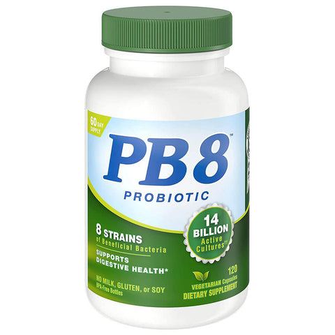 Nutrition Now PB 8 Probiotic - Vegetarian (120 capsules)