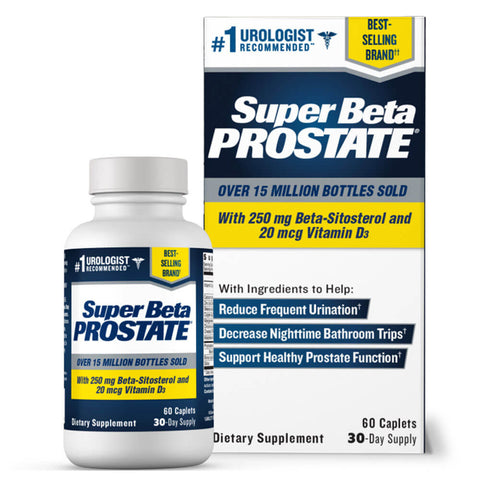 New Vitality Super Beta Prostate (60 caplets)