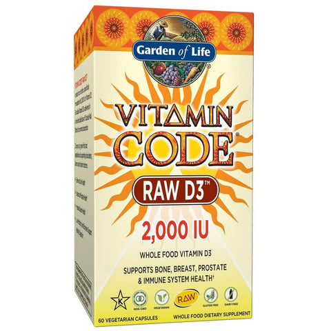 Garden of Life Vitamin Code RAW D3 (capsules)