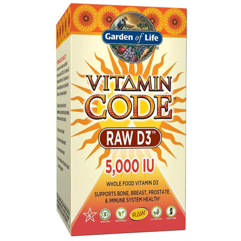 Garden of Life Vitamin Code RAW D3 (60 caps)