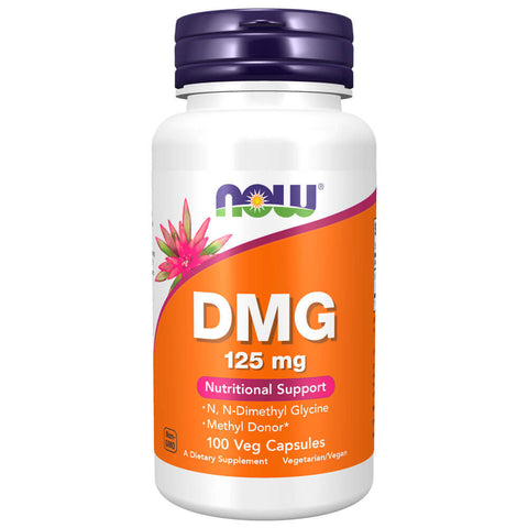 NOW DMG 125mg (100 capsules)
