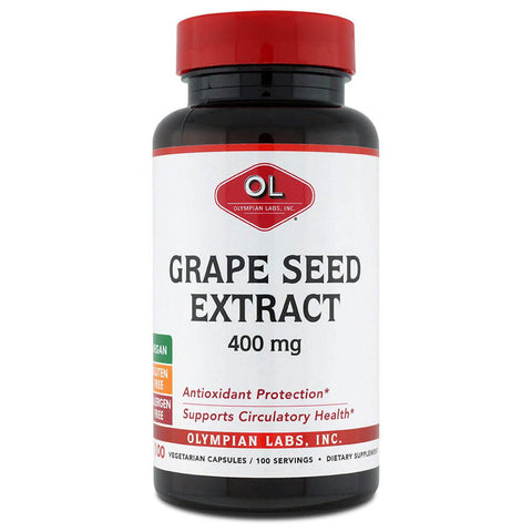 Olympian Labs Grape Seed Extract 400mg (100 capsules)