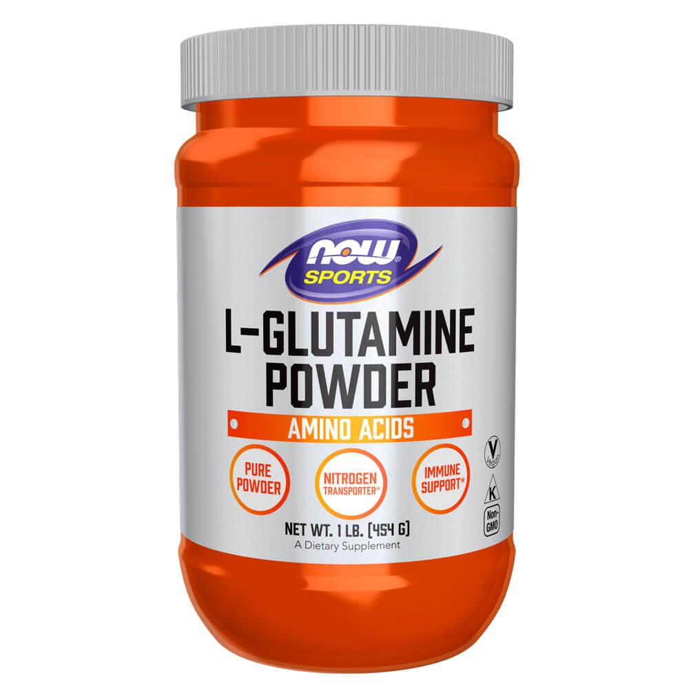 NOW Sports L-Glutamine Powder (1 lb)