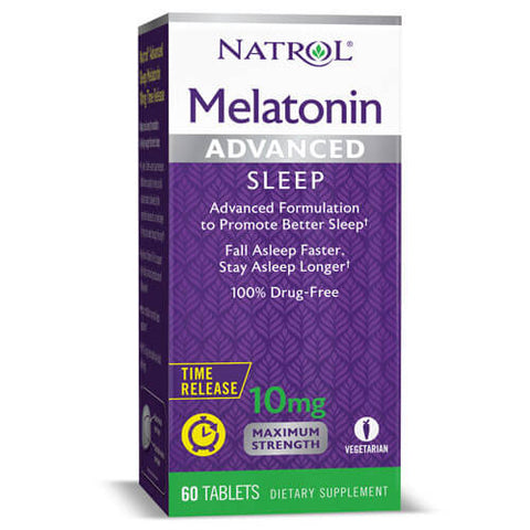 Natrol Advanced Sleep Melatonin 10mg (60 tablets)