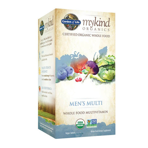 Garden of Life Mykind Organics Men's Multi (60 tabs)