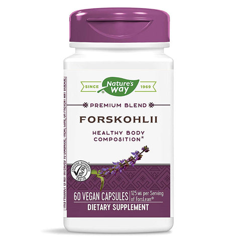 Nature's Way Forskohlii Standardized (60 Vcaps)