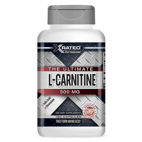 Xrated Body Engineering Ultimate L-Carnitine 500mg (120 capsules)