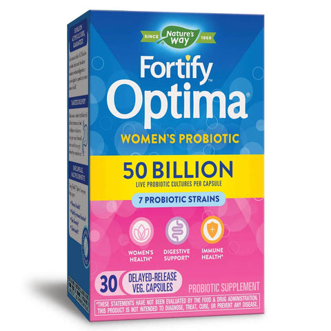 Nature's Way Fortify Optima Probiotic 50 Billion Women's (30 caps)