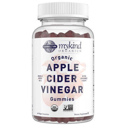Garden of Life mykind Organics Apple Cider Vinegar Gummies (60 gummies)