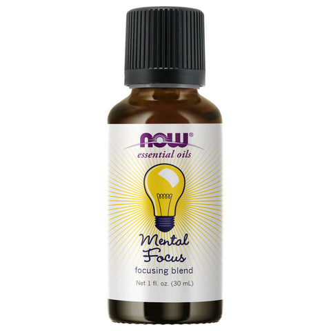 NOW Essential Oils Mental Focus Oil Blend (1 oz)