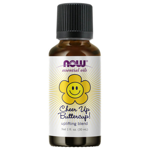 NOW Essential Oils Cheer Up Buttercup Oil Blend (1 fl oz)