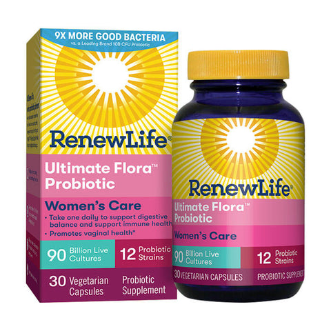 Renew Life Ultimate Flora Women's Care Probiotic 90 Billion (30 capsules)
