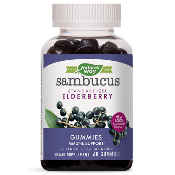 Nature's Way Sambucus Gummies (60 gummies)